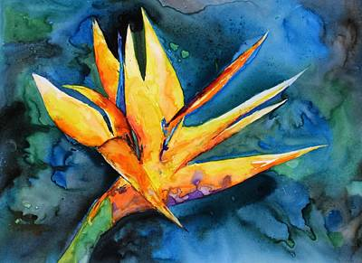 Painting - Yupo Paradise by Patricia Beebe