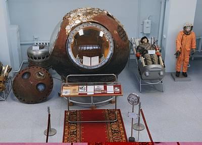 Yuri Gagarin Photograph - Yuri Gagarin's Descent Module by Science Photo Library