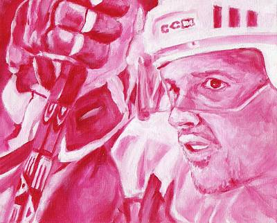 Yzerman Painting - Yzerman by Paul Smutylo
