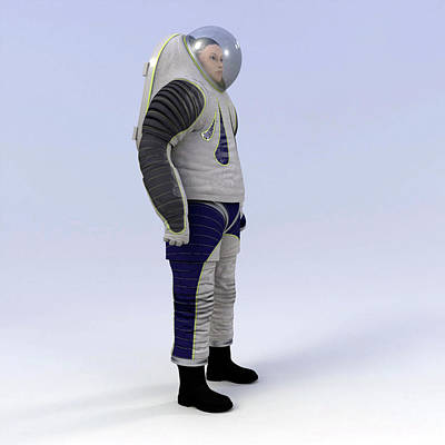 Spacesuit Photograph - Z-2 Prototype Spacesuit by Nasa