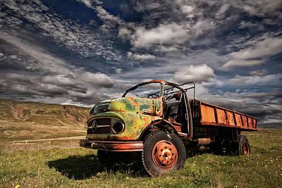 Truck Wall Art - Photograph - Z 466 by ?orsteinn H. Ingibergsson
