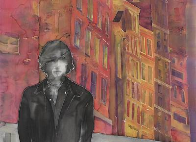 Z And The City 2 Art Print by Carolyn Doe