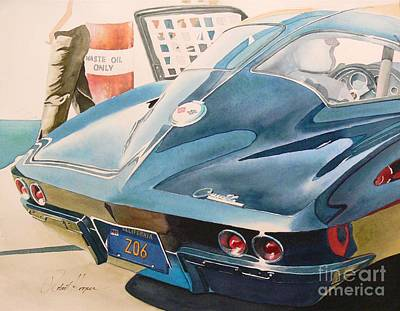 Automobilia Painting - Z O 6 by Robert Hooper