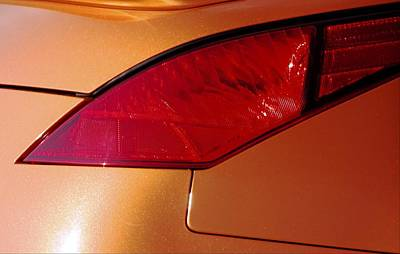 Jerry Sodorff Royalty-Free and Rights-Managed Images - Z Taillight L by Jerry Sodorff