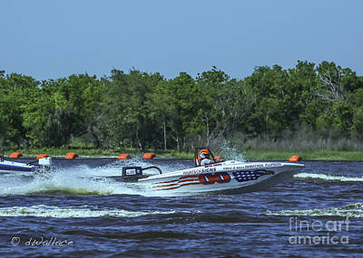 Photograph - z00 Boat Port Neches Riverfest by D Wallace