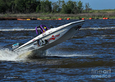Photograph - z03 b Boat Port Neches Riverfest by D Wallace