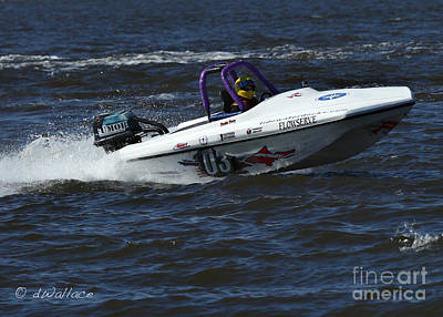 Photograph - z03 Boat Port Neches Riverfest by D Wallace