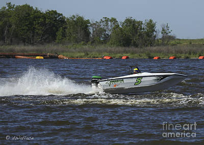 Photograph - z05 Boat Port Neches Riverfest by D Wallace