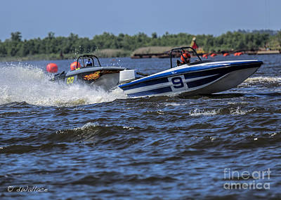 Photograph - z09 Boat Port Neches Riverfest by D Wallace