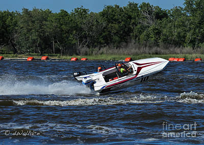 Photograph - z10 Boat Port Neches Riverfest by D Wallace