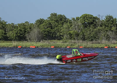 Photograph - z15 Boat Port Neches Riverfest by D Wallace