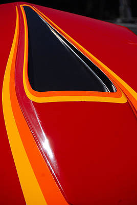Photograph - Z28 Bonnet by John Schneider
