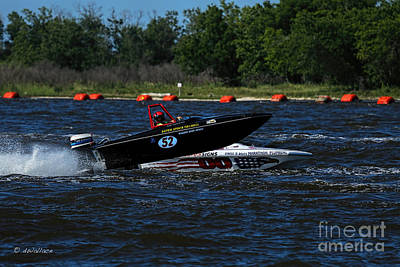 Photograph - Boat 52 B Port Neches Riverfest by D Wallace