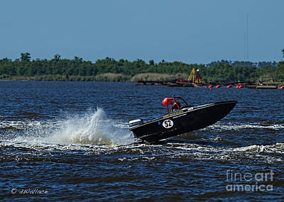 Photograph - Boat 52 Port Neches Riverfest by D Wallace