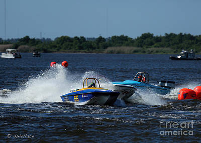 Photograph - Boat 56 Port Neches Riverfest by D Wallace