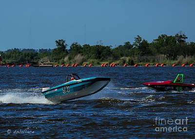 Photograph - Boat 97 Port Neches Riverfest by D Wallace
