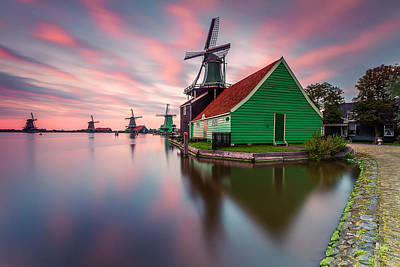 Mill Photograph - Zaanse Schans by Carlos M. Almagro