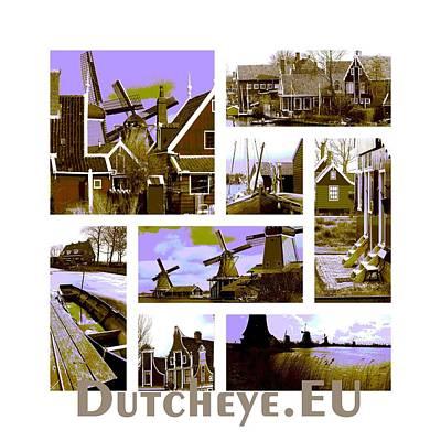 Zaanse Schans Art Print by John Eckhardt