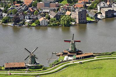 Zaandam Photograph - Zaanse Schans Zaandam, Noord-holland by Bram van de Biezen