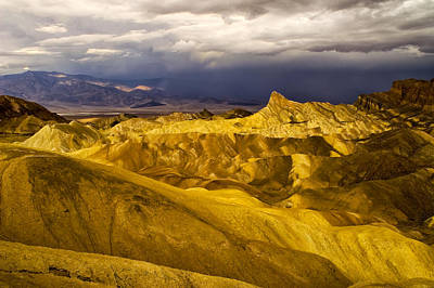 Photograph - Zabriske Point by Jim Dollar