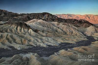 Photograph - Zabriskie Badlands Canyon by Adam Jewell