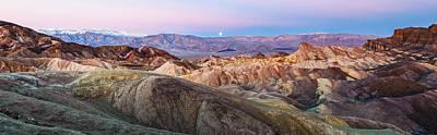 Zabriskie Dawn - Death Valley National Park Photograph Art Print