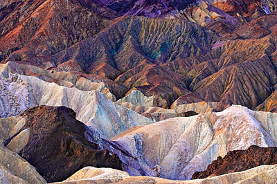 Photograph - Zabriskie Point 3 2006 by Ralph Nordstrom