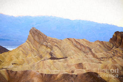 Photograph - Zabriskie Point by Les Palenik