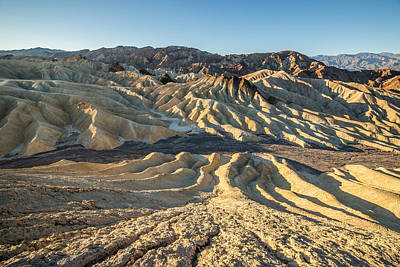 Photograph - Zabriskie Point Spectacular Mountains  by Pierre Leclerc Photography