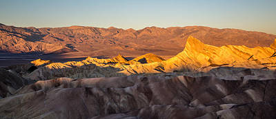 Photograph - Zabriskie Point Sunrise California by Pierre Leclerc Photography