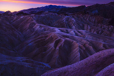 Photograph - Zabriskie Point Sunrise by Giovanni Allievi