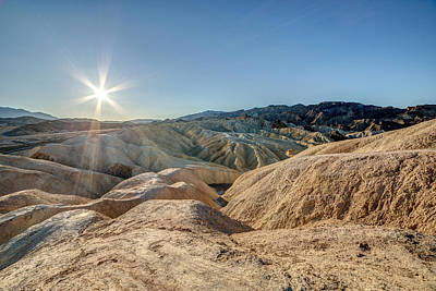 Photograph - Zabriskie Point Sunshine by Pierre Leclerc Photography