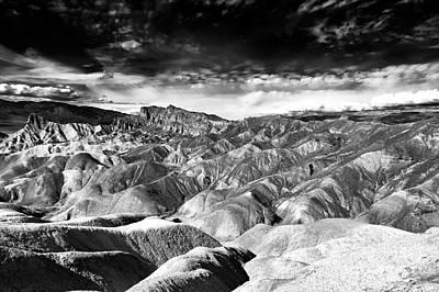 Photograph - Zabriskie Point Wonders by John Rizzuto