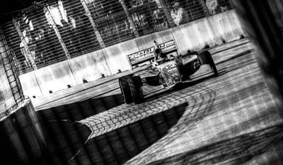 Andretti Photograph - Zach Veach by David Morefield