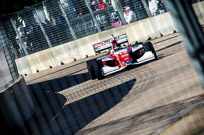 Photograph - Zach Veach Racing by David Morefield