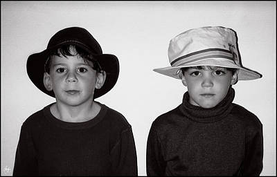 Photograph - Zachary And Alexander by Wayne King