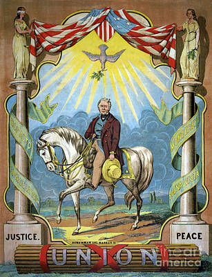 Zachary Taylor Campaign Poster Art Print