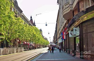 Photograph - Zagreb-66 by Rezzan Erguvan-Onal