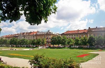 Photograph - Zagreb-75 by Rezzan Erguvan-Onal