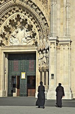 Church Photograph - Zagreb Cathedral by Steven Richman