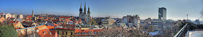 Photograph - Zagreb Panoramic From Upper Town by Brch Photography