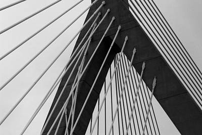 Photograph - Zakim 3 by Mary Bedy