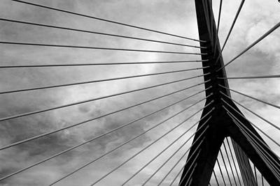 Photograph - Zakim 7 by Mary Bedy