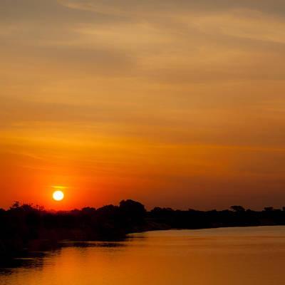 Earth Shapes Photograph - Zambezi Light by Alistair Lyne