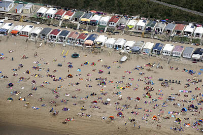 Zandvoort Photograph - Zandvoort Beach, Noord-holland by Bram van de Biezen