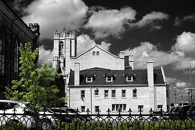 Photograph - Zanesville Church by David Yocum
