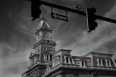 Photograph - Zanesville Oh Courthouse by David Yocum