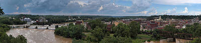 Photograph - Zanesville Panorama by Joshua House
