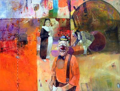 Clowns Art Print by Istvan Korbely