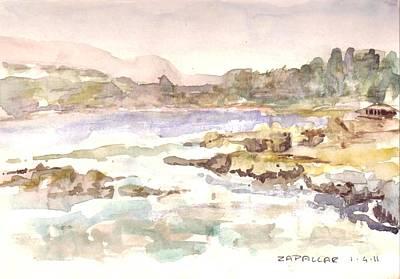 Painting - Zapallar by David  Hawkins